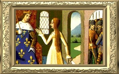 Jeanne dArc and King Charles VII