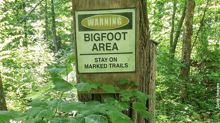 Bigfoot Warning