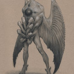 mothman by mavros thanatos daesgc11