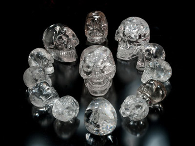13 crystal skulls gathering