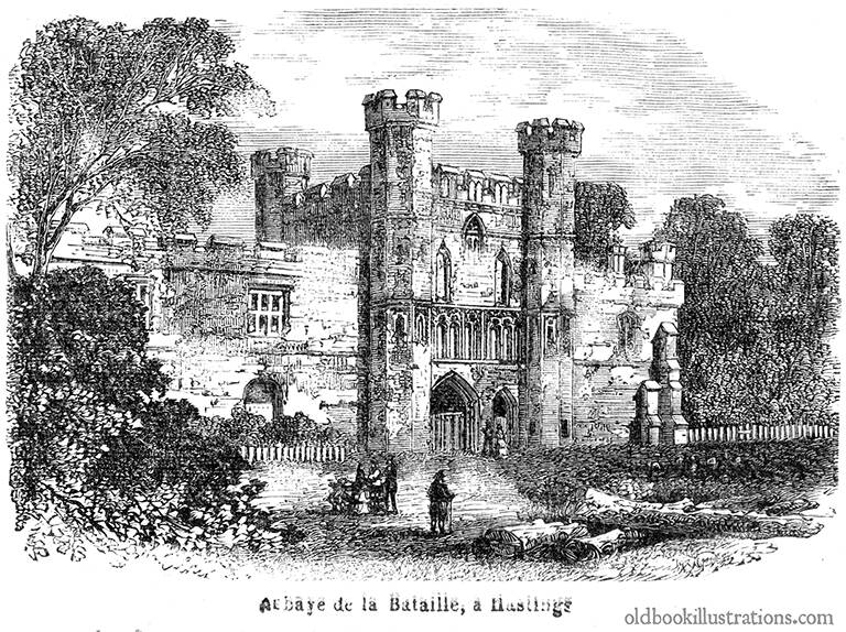 hastings battle abbey 768
