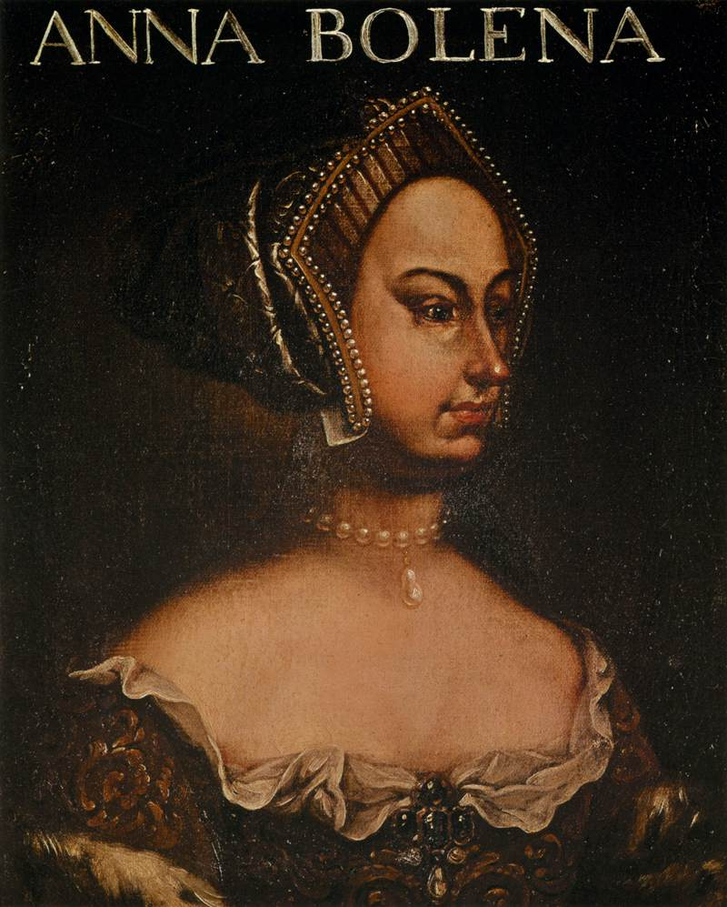 17th century unknown painters Portrait of Anne Boleyn WGA23961