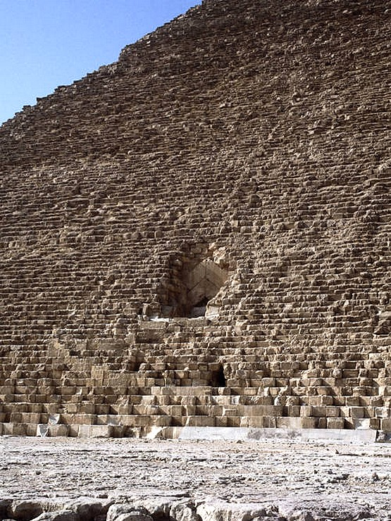 Al Mamun North face of the Great Pyramid