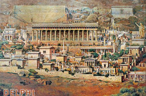 Delphi and the Delphic oracle
