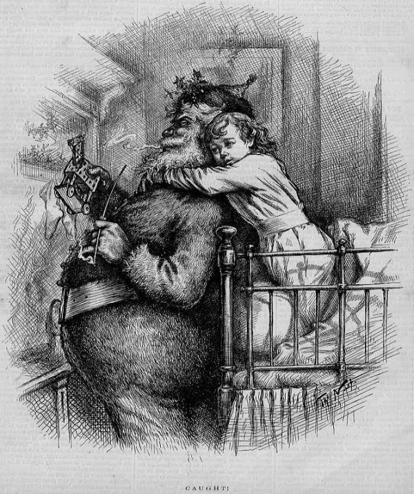 Thomas Nast Caught 1881
